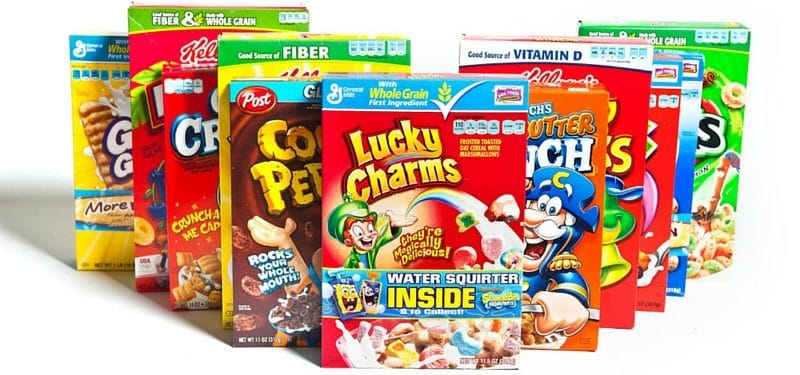 The 7 Worst Breakfast Foods to Eat in the Morning - Kid's Cereals