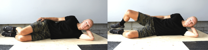Best Glute Exercises - Side Lying Clams