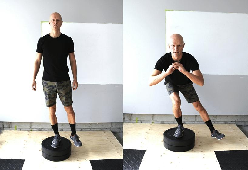 Best Glute Exercises - Single Leg Lateral Drop Squat