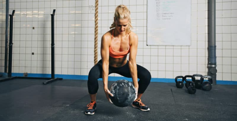 Abdominal Exercises - Squats