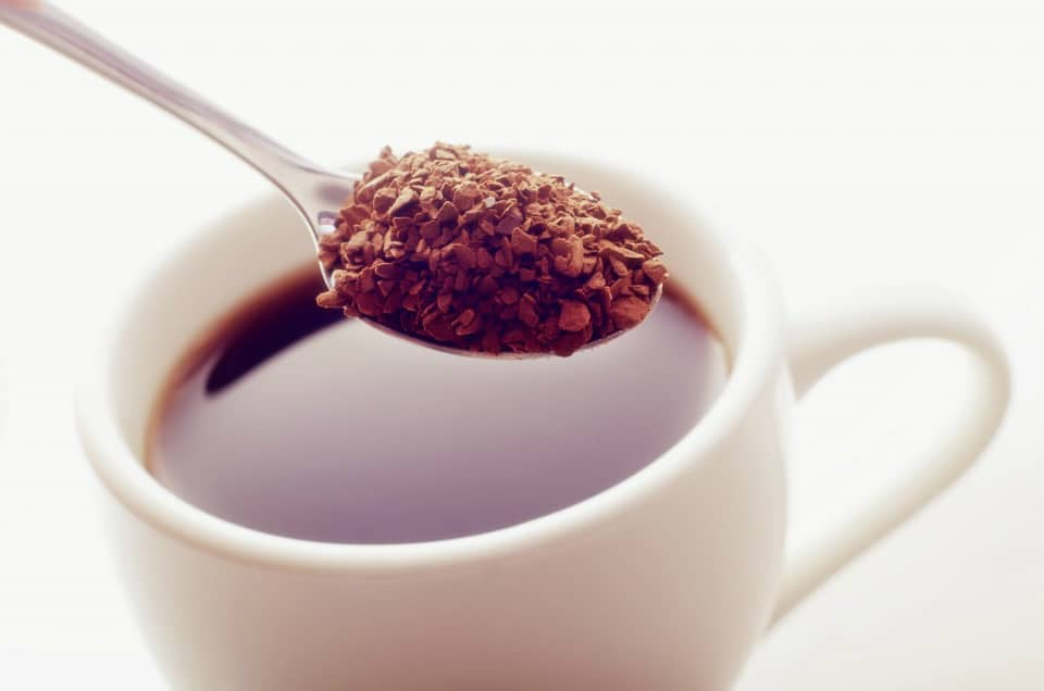 Caffeine Content - Instant Coffee