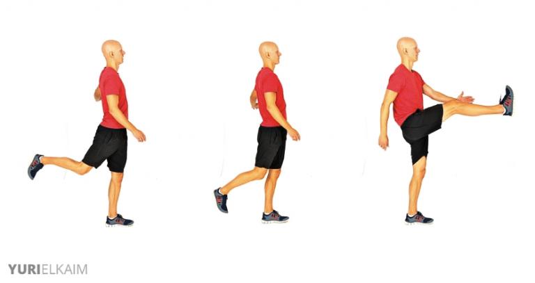 Dynamic Exercises - Leg Swings