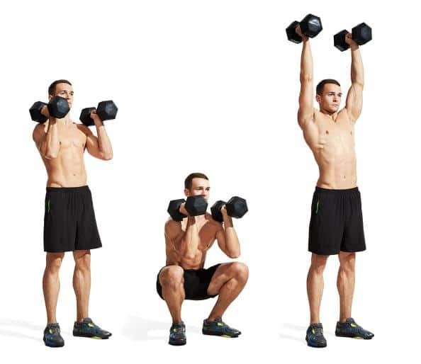 Full-Body Movements - Squat Press