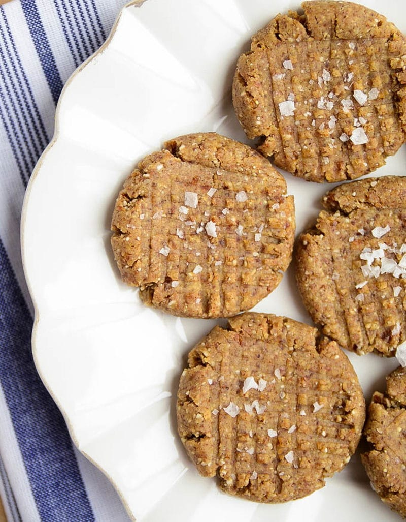 Almond Butter Cookies - Blissful Basil
