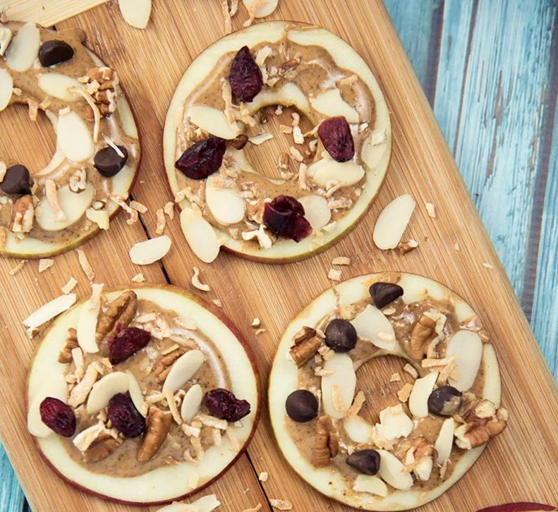 Apple and Almond Butter Bites - Paleo Leap