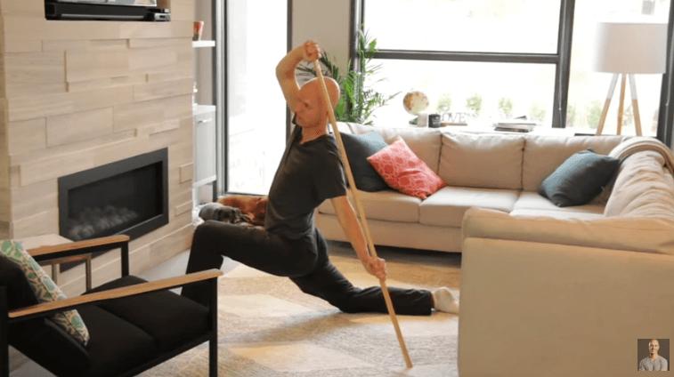 Canoeist Hip Flexor Stretch