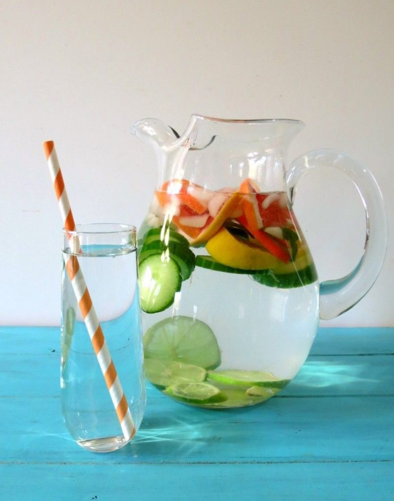 Citrus Cucumber Detox Water