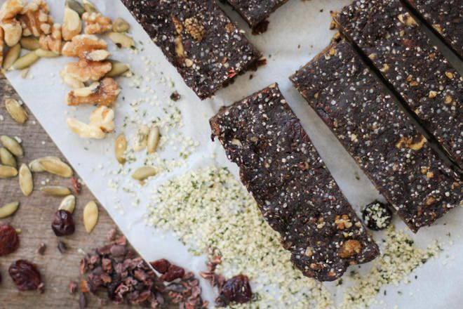 Cocoa Superfood Hemp Bars - @nutritionstripped