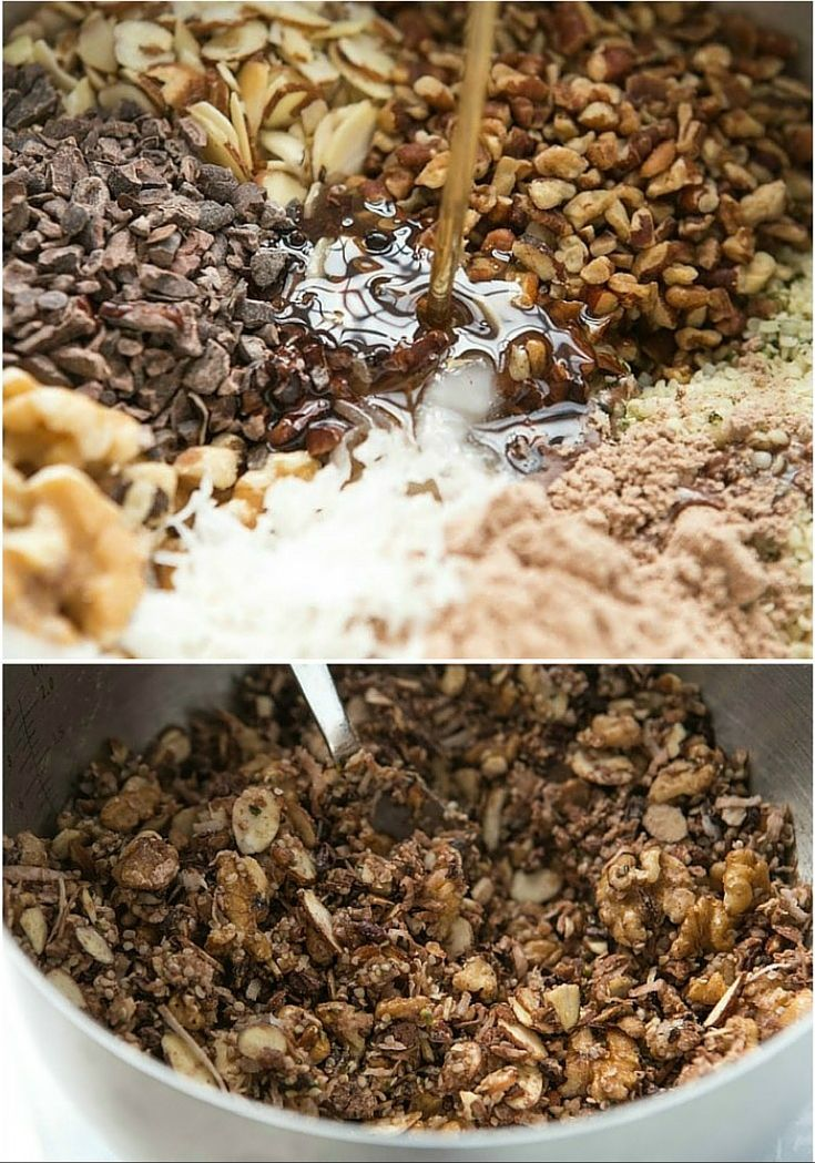 Healthy Homemade Granola Cereal Recipe