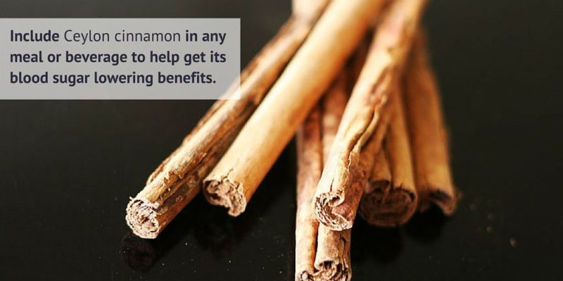 Include More Ceylon Cinnamon