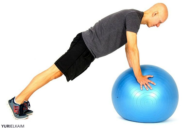 Knee Drive Hold Part 1 Abdominal Exercise