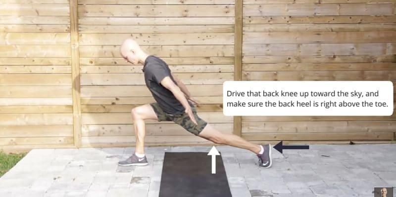 Runner's Lunge Yoga Posture Fix