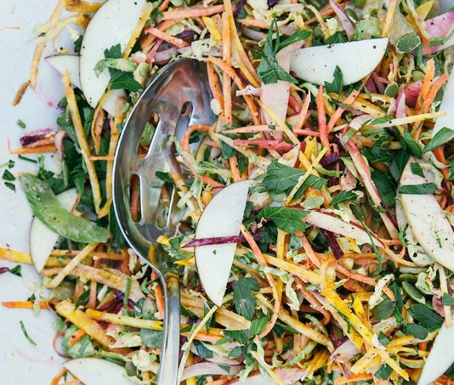Shredded Brussels Sprouts Salad - The First Mess