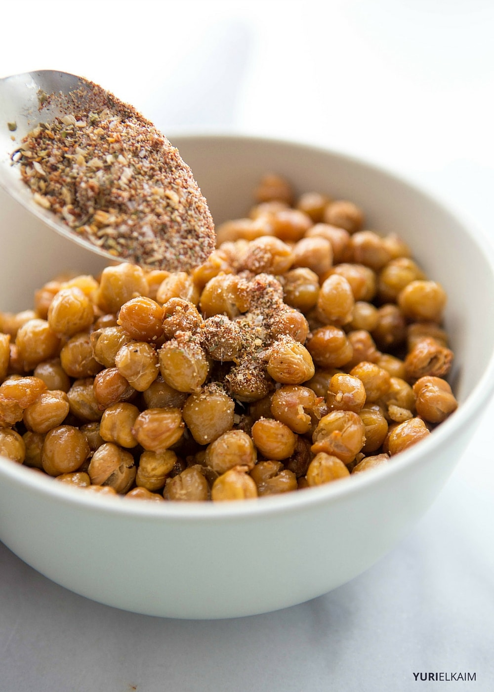 Spicy Garlic Oven-Roasted Chickpeas - Step 4