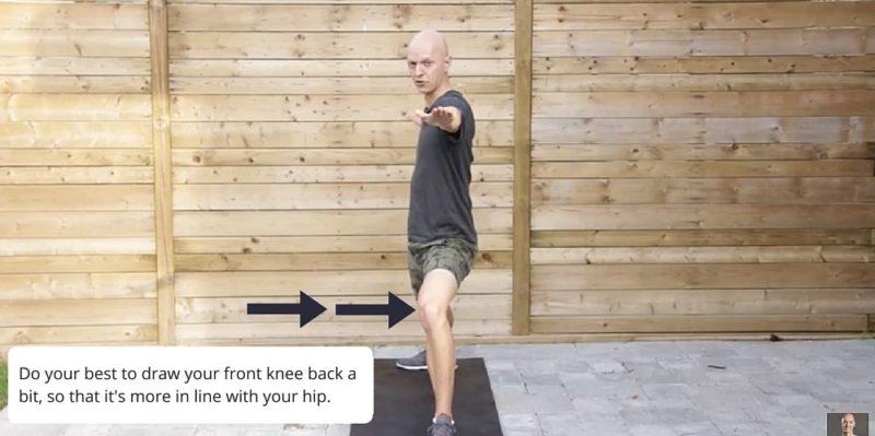 Warrior 2 Yoga Posture Fix