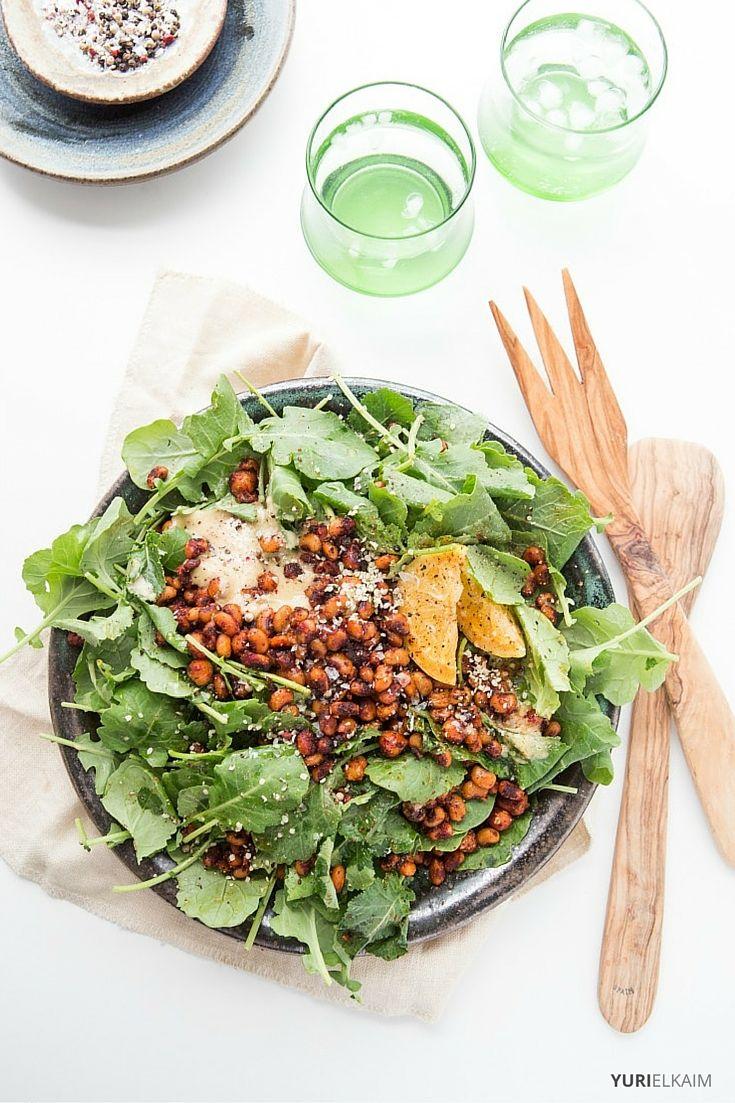 15-Minute Kale Vegan Caesar Salad