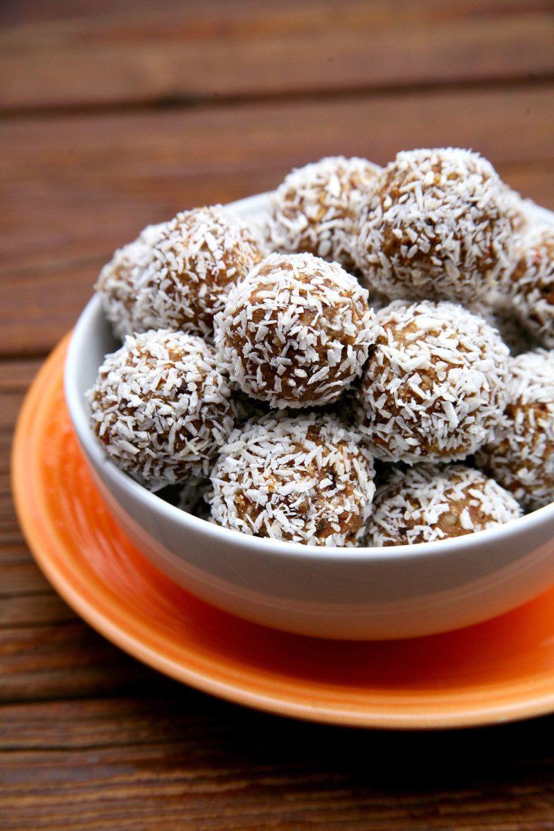 Carrot Cake Protein Balls via POPSUGAR