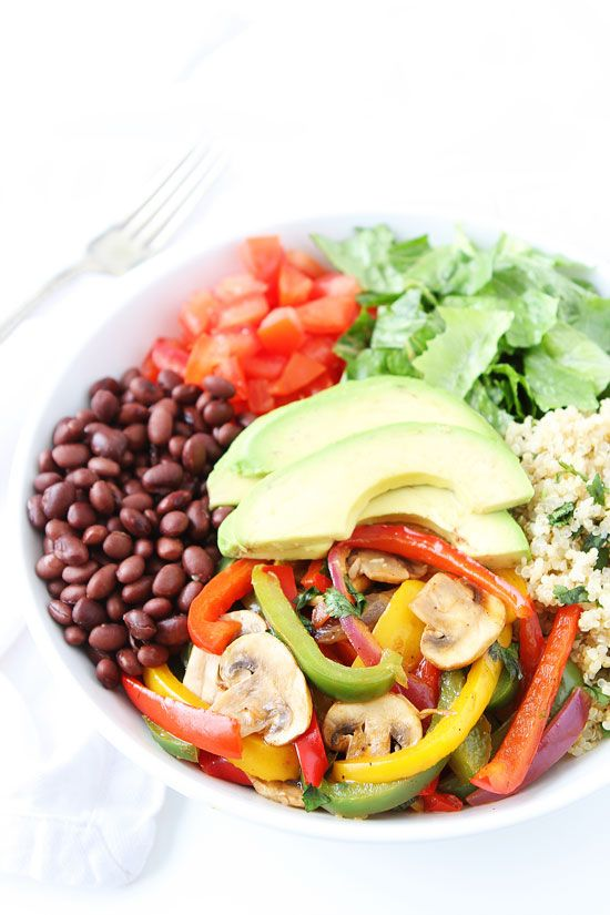 Fajita Quinoa Bowls - Two Peas and Their Pod