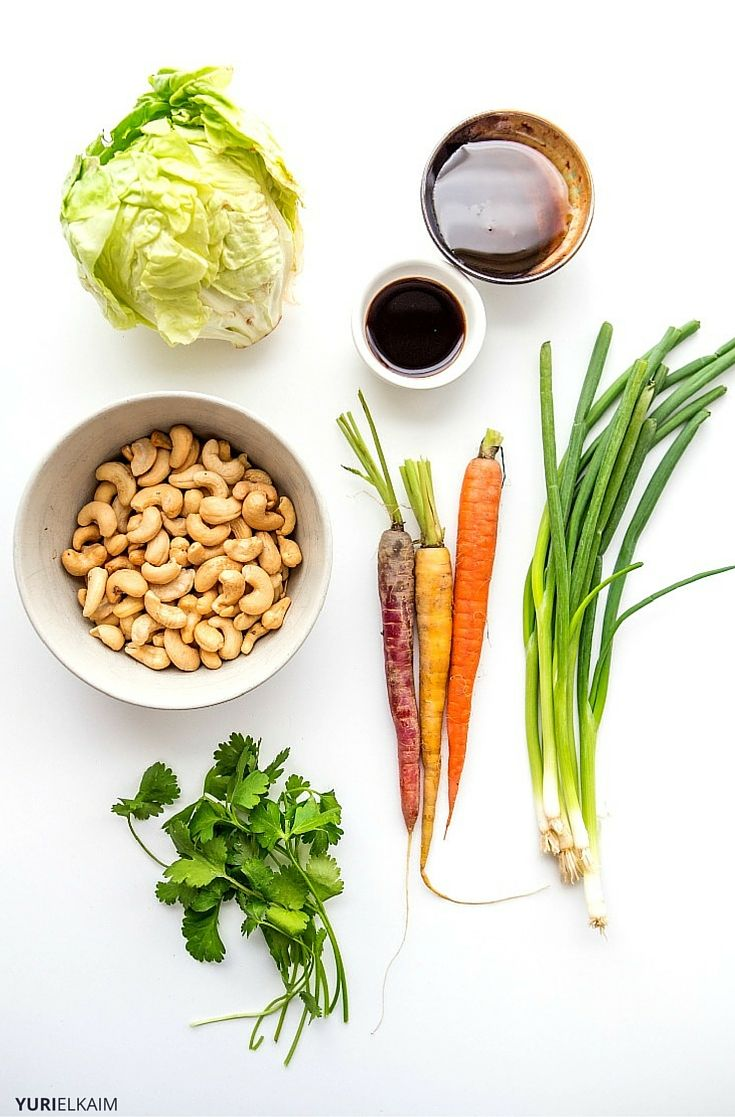 Ingredients for Cashew Wraps