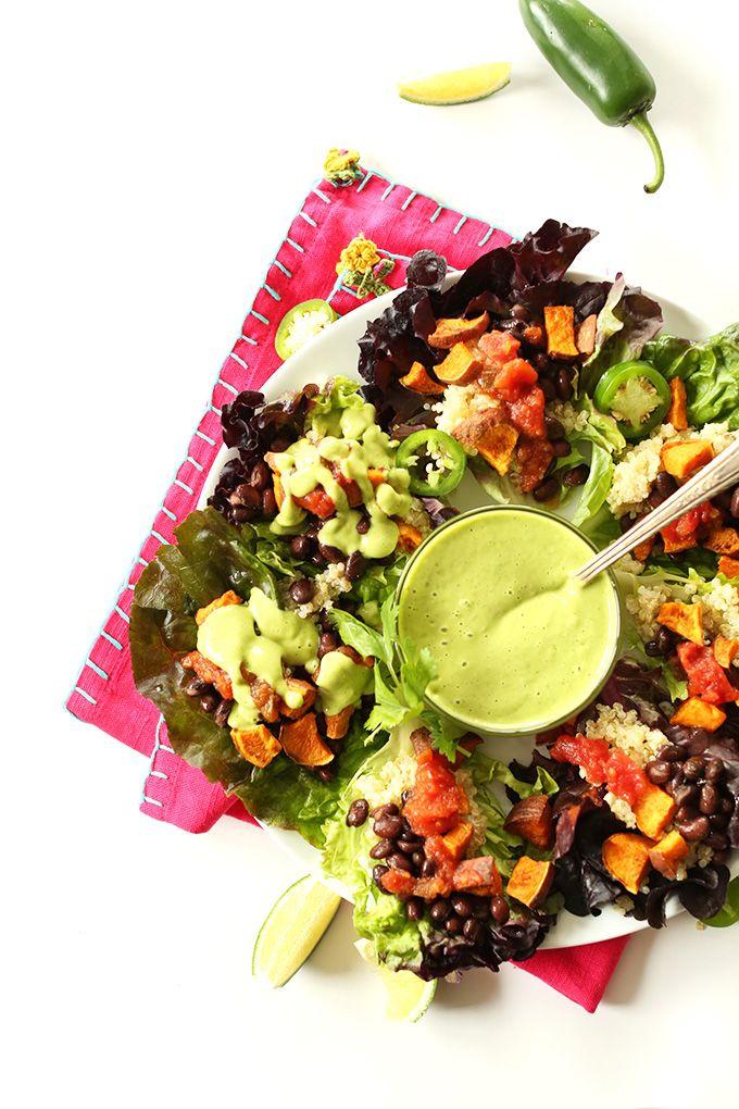 Mexican Quinoa Salad Cups - Minimalist Baker