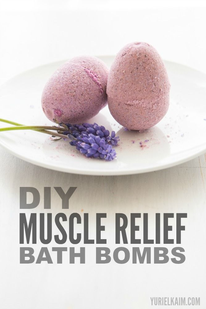 Sore Muscles? Try These Homemade Bath Bombs