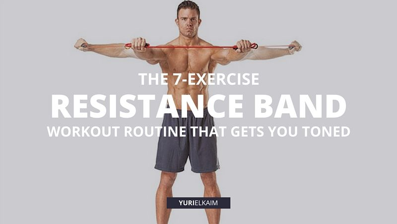 A Resistance Band Workout Routine That Will Make You Toned