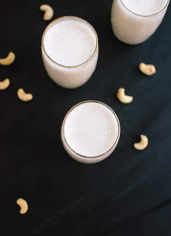 Cashew Milk Recipe via COOKIE + kate