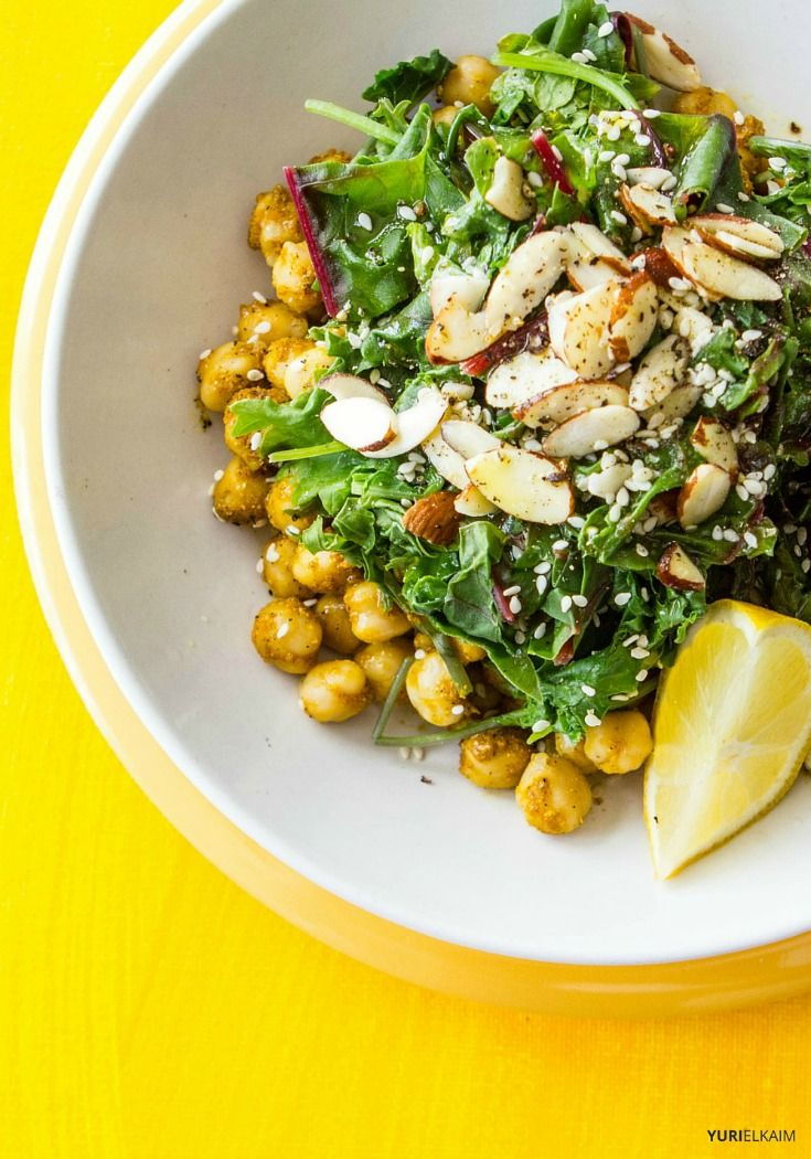 Curried Chickpea Salad Bowl