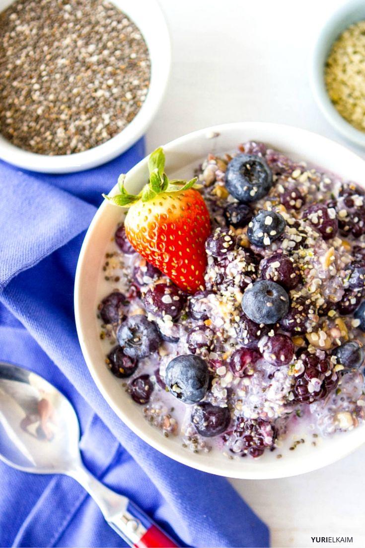 Fiber Starter Breakfast Bowl Recipe