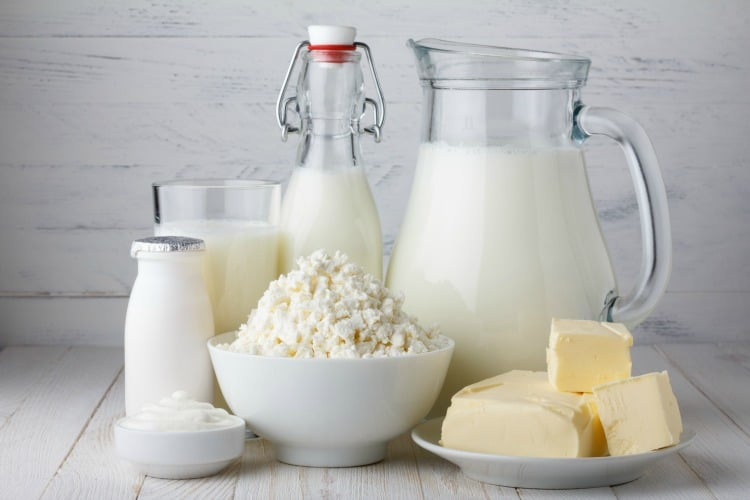 Most Common Food Intolerances - Dairy Products