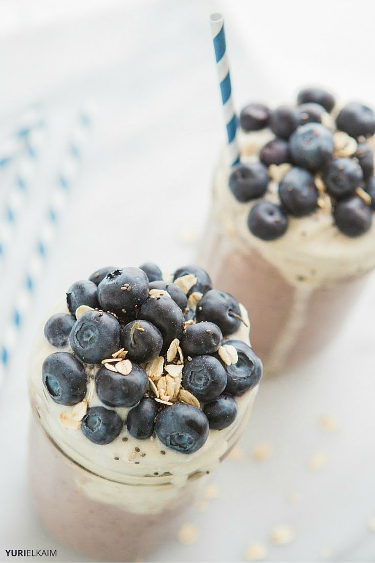 The Best Banana Oat Smoothie