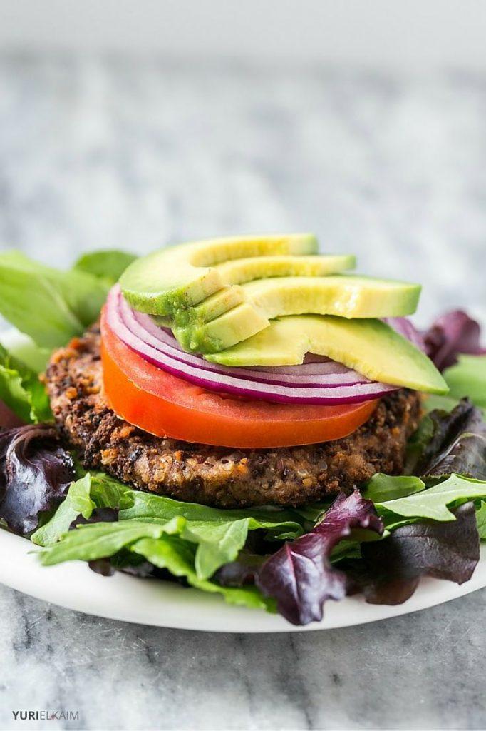 Vegan Spicy Black Bean Burger Recipe