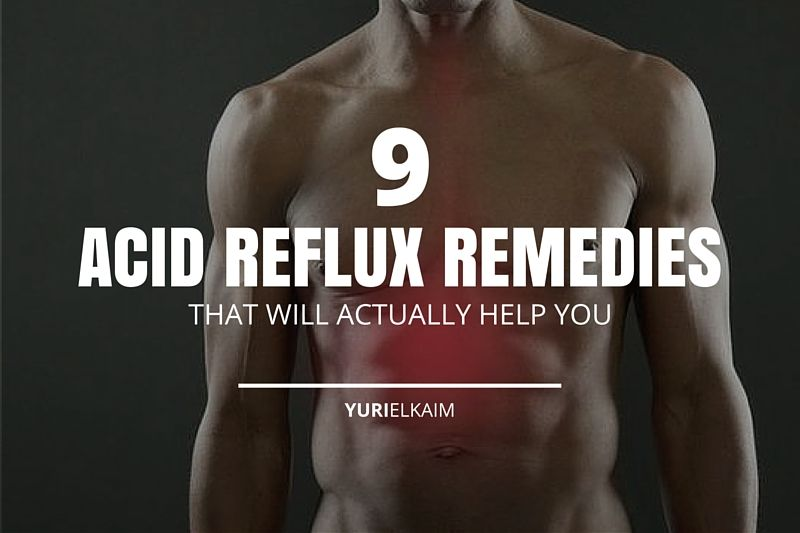 9 Acid Reflux Remedies That Actually Work