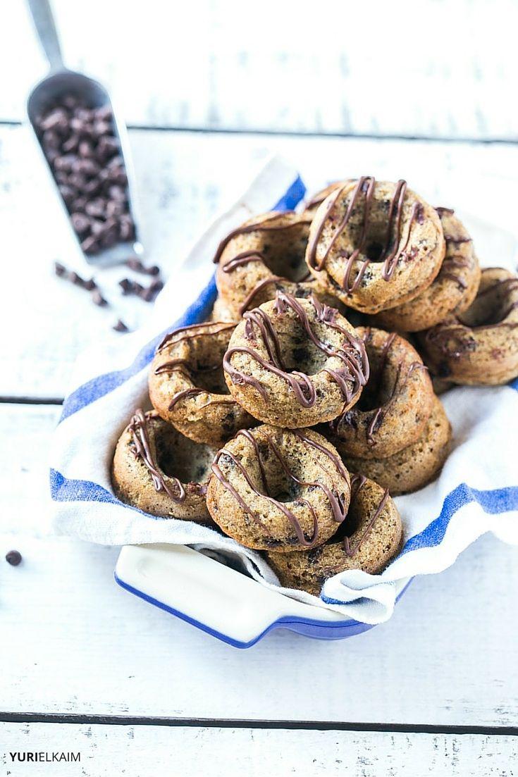 Banana Chocolate Chip Paleo Donuts