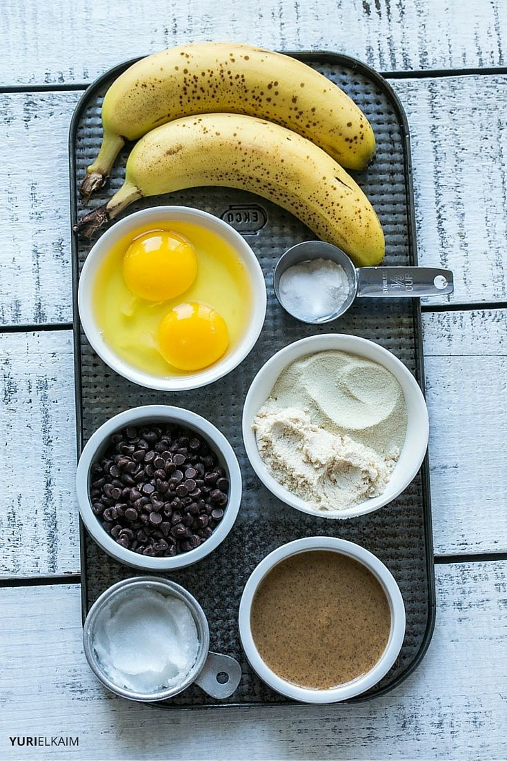 Banana Chocolate Chip Protein Donuts Ingredients