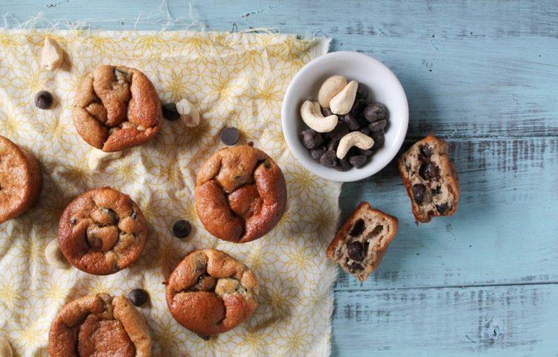 Five-Minute High-Protein Muffins via Tessa the Domestic Diva
