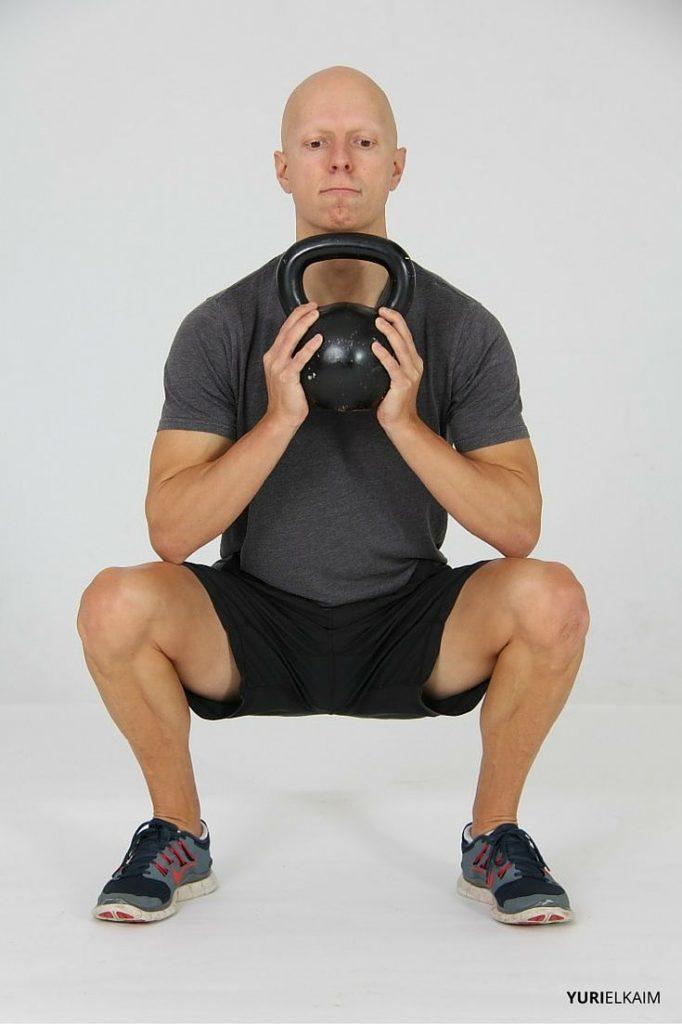 Goblet Squat - Finishing Position