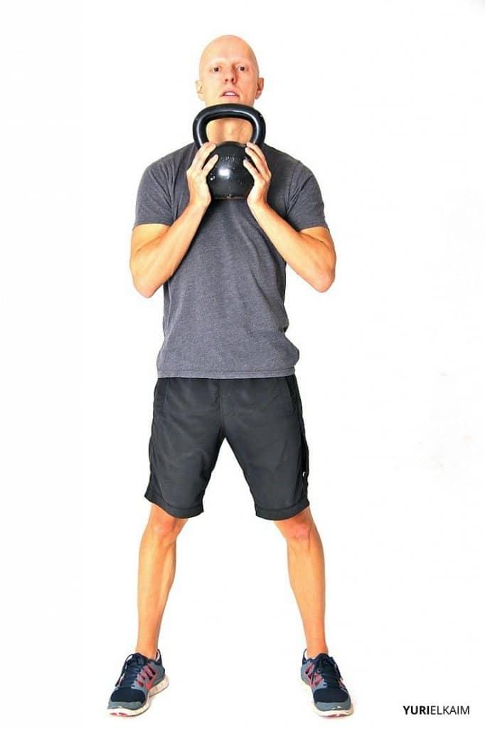 Goblet Squat - Starting Position