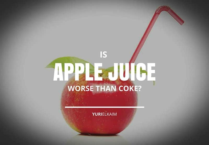 Is Apple Juice Worse Than Coke