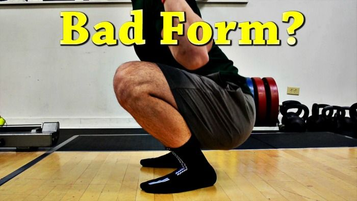 Is Knees Past Toes Bad Form