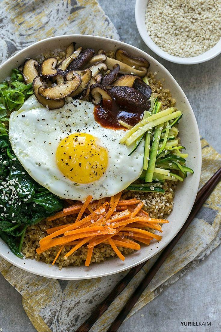Vegetarian Bibimbap Recipe