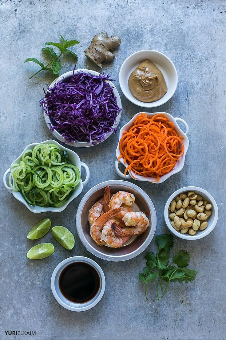 Vegetarian Summer Roll Recipe Ingredients