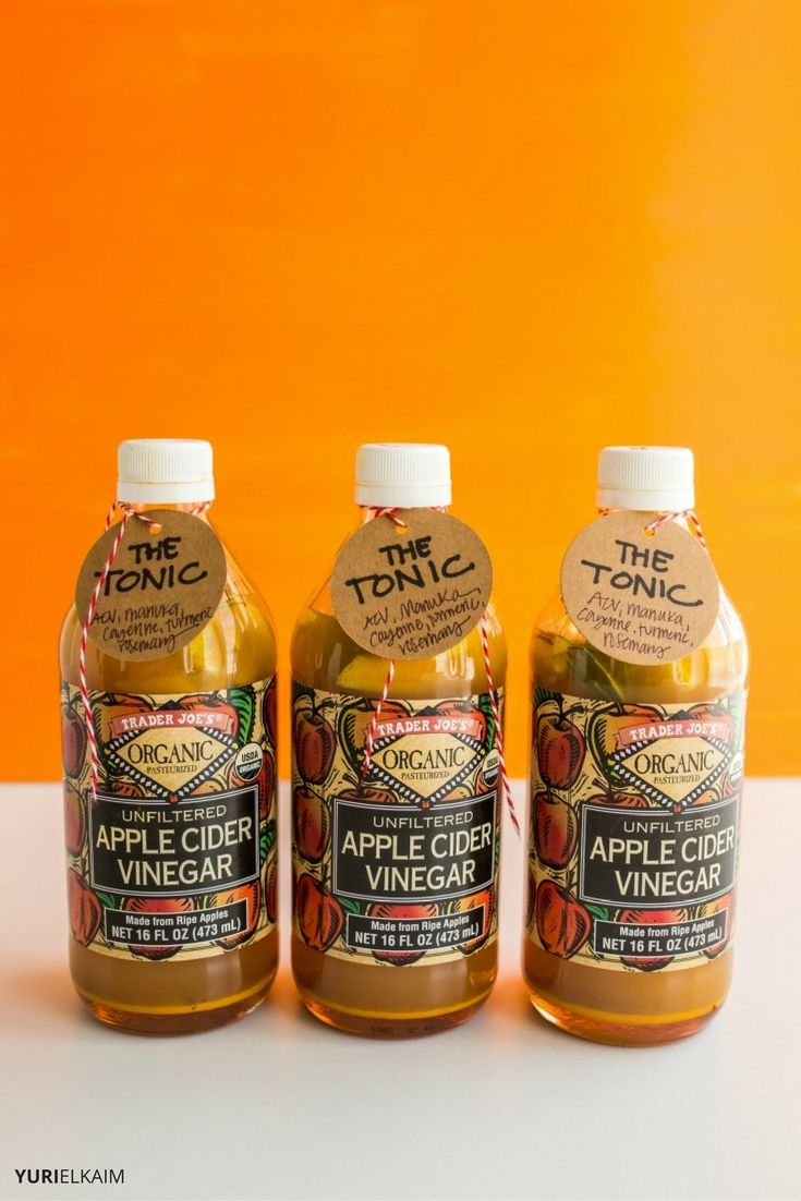 Apple Cider Vinegar Health Drink