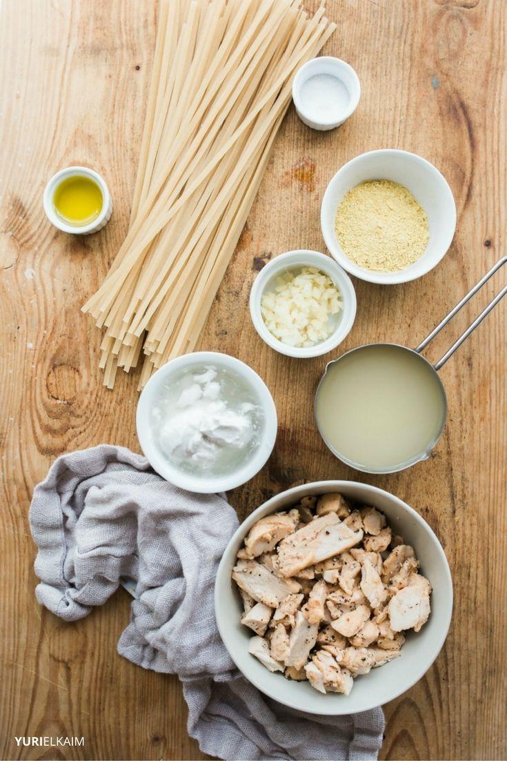 Dairy-Free Chicken Alfredo Ingredients