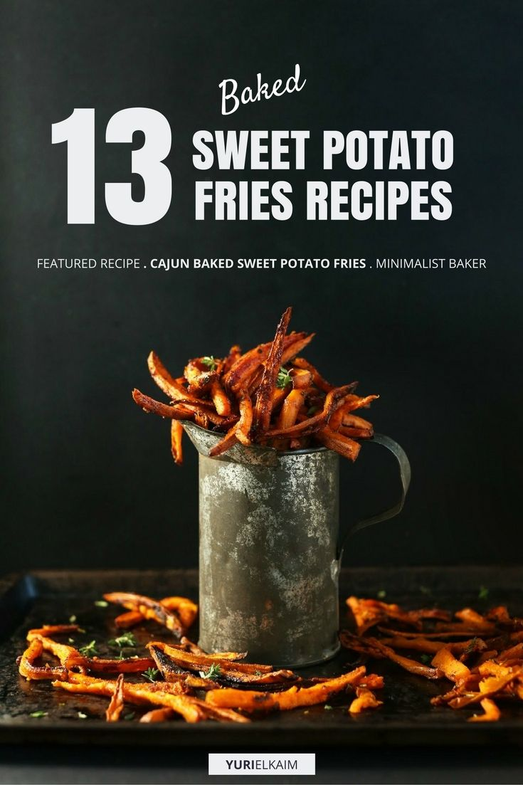 13 of the Best Baked Sweet Potato Fries Recipes