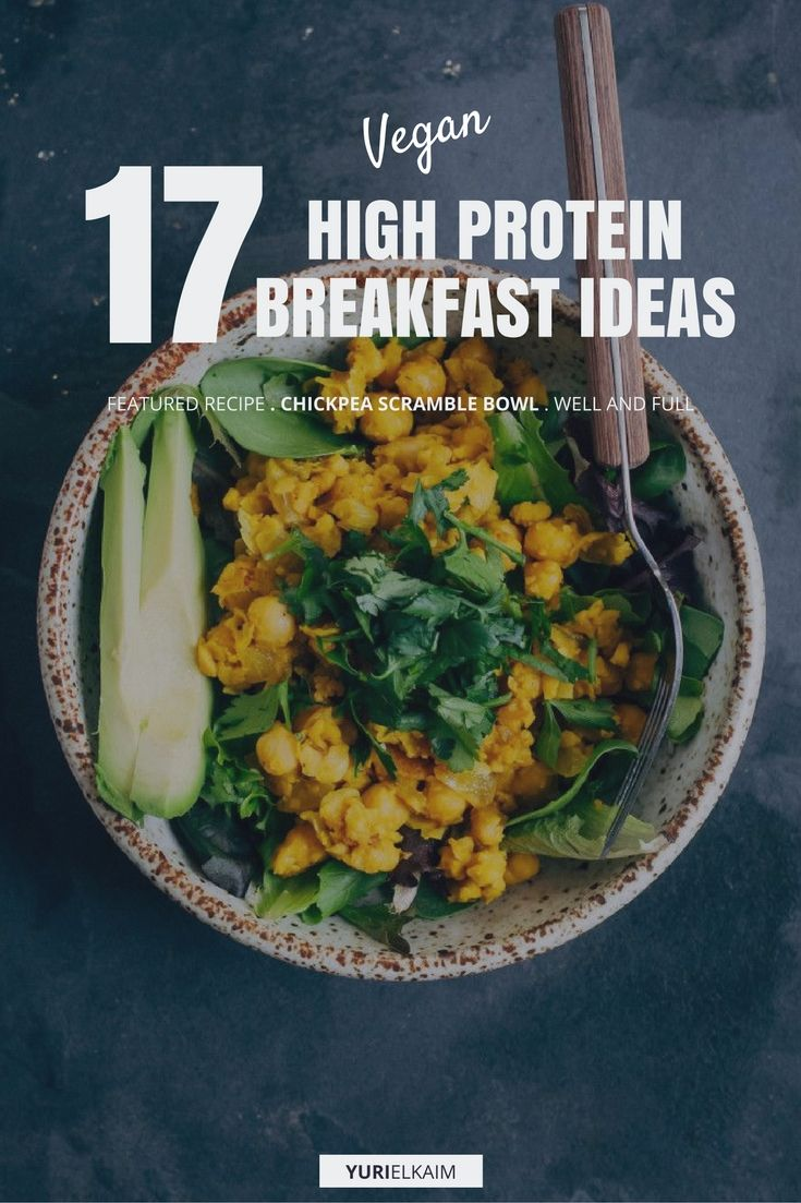 17 High Protein Vegan Breakfasts That Are Easy to Make