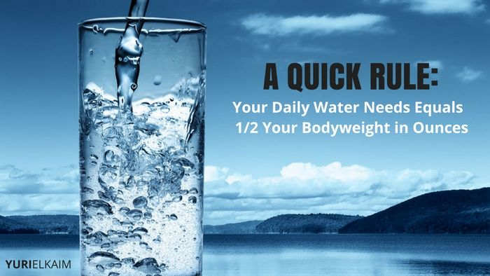 How Much Water You Need/Day