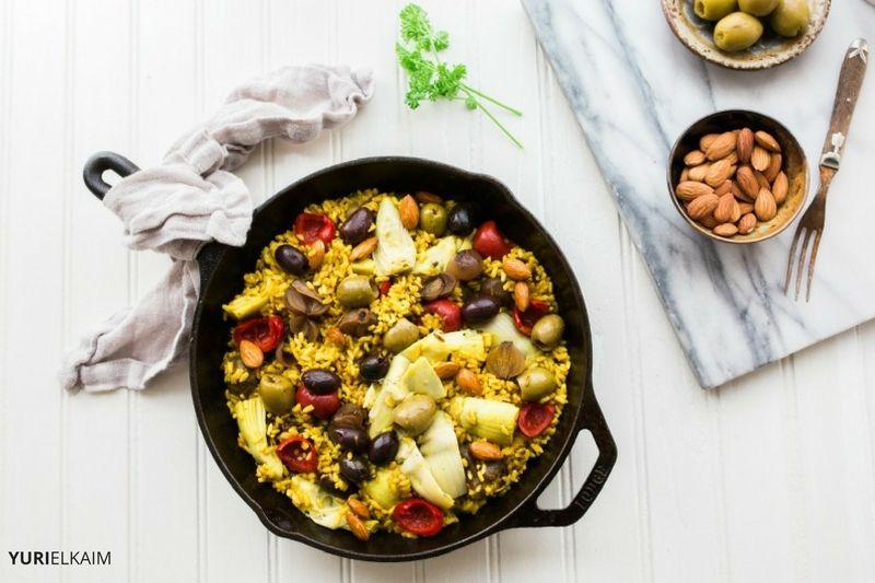 Easy Vegetarian Paella Recipe