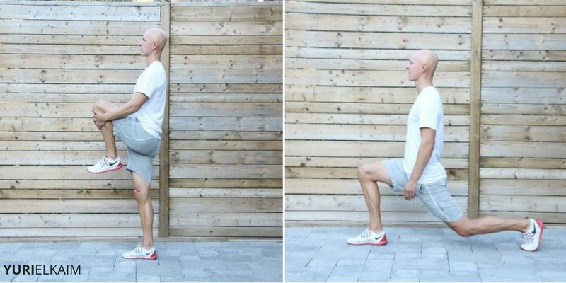 Knee Hugs with Lunge
