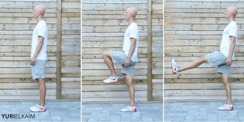Leg Flexor Stretch